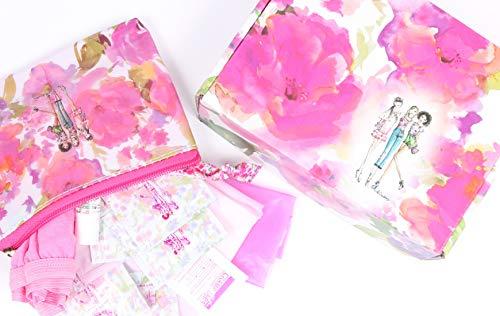 First Period Kit by The Tweenage Company (Tween/Teen Starter Period Kit, Menstruation Kit, Feminine Care/Hygiene/Pads/Underwear/Wipes, Cramp Tablets)