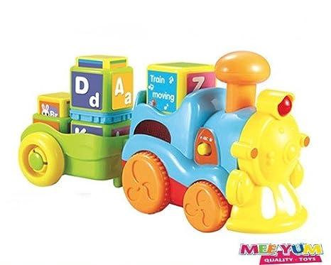 MeeYum Kids Phonics ABC Blocks Musical Toy Train