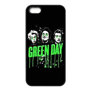 Green Day Rock Band Design Solid Rubber Customized Cover Case for iPhone 5 5s 5s-linda734