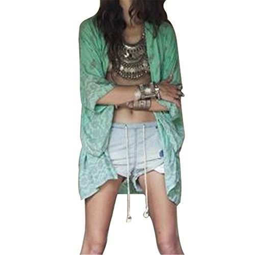 YIZHIMEI Women's Spring Summer Boho Print Loose Long for sale  Delivered anywhere in Canada