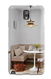 For Galaxy Note 3 Fashion Design Transitional Breakfast Nook With Banquette Seating And Pendant Light Case-voQizdU2155tzJFQ