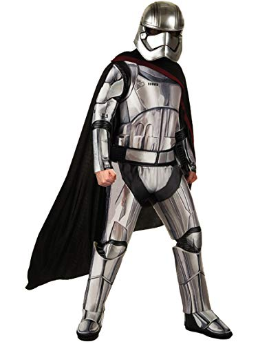 Star Wars: The Force Awakens Deluxe Adult Captain Phasma Costume, Multi, X-Large -