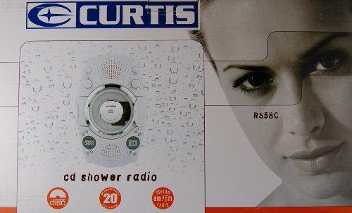 CURTIS RS58C CD Player/Shower Radio