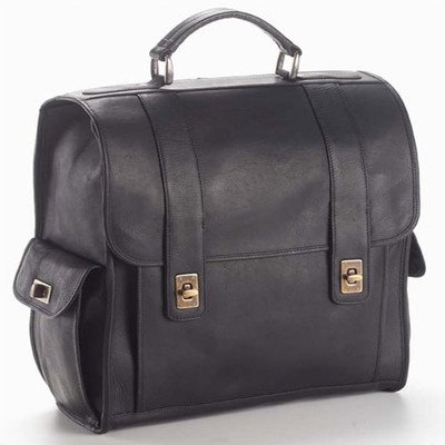 (Clava TurnLock Backpack - Leather - Vachetta Black - Vachetta Black)