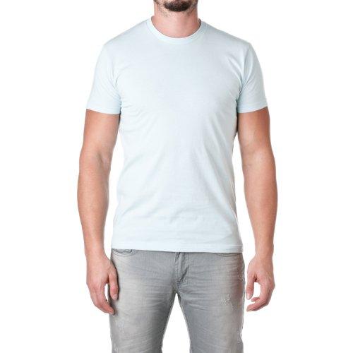- Next Level Mens Premium Fitted Short-Sleeve Crew T-Shirt - X-Large - Light Blue