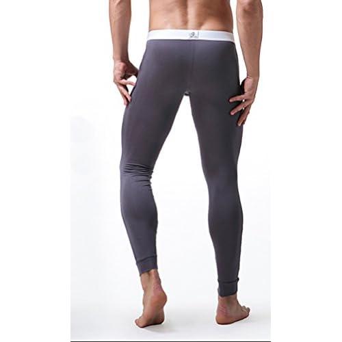 YiLianDa Capa Para Hombre De Base Pantalones Térmicos Johns Ropa Interior De Caliente Pantalones Largos gOw6a8ddc