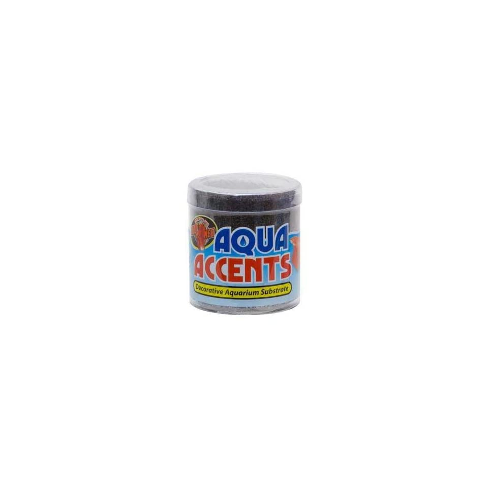 Top Quality Aqua Accents Midnight Black Sand 1/2lb