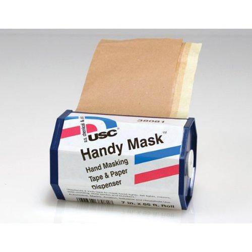 (U. S. Chemical & Plastics Handy Mask Tape & Paper with Dispenser 12/Display Box (USC-38081))