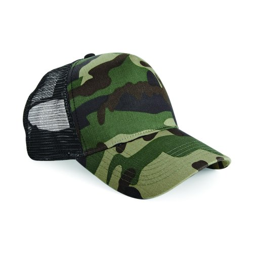 Beechfield Retro Camouflage Snapback Trucker product image