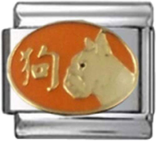 Stylysh Charms Chinese Year of Enamel 9mm Link ()