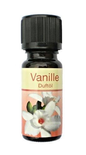 Duftöl Aromaöl Raumduftöl Vanille im 10 ml Fläschchen