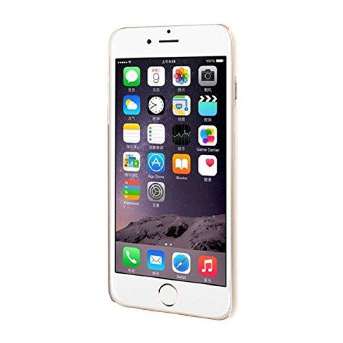 Ukamshop für iPhone 6 Plus schön retro Henna Totem weiß blume hülle Kunststoff Tasche case cover