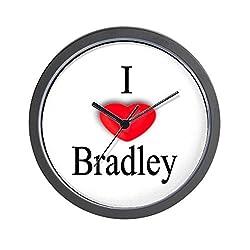 CafePress - Bradley Wall Clock - Unique Decorative 10 Wall Clock