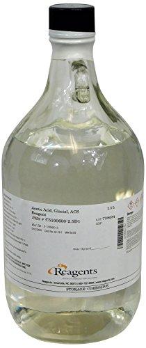 - C5100600-2.5D1 Acetic Acid, Glacial ACS Reagent, Minimum Assay 99.7%