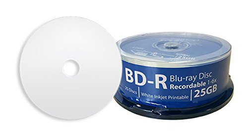 picture regarding Printable Blu Ray Discs called DIGISTOR 25GB 6X Blu-ray Disc Recordable BD-R Blank Media