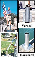 - TopFlight 20' Telescoping Pole and Vertical Dock Mount