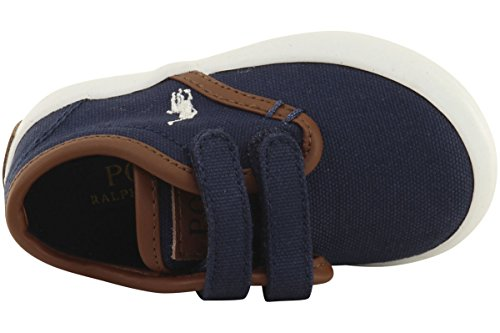 Polo Ralph Lauren Kinderen Jongens Waylon Ez Casual Mode Marine Canvas / Papier Wit Pp