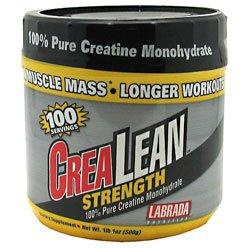 Monohydrate de créatine Labrada Crealean - 500 g