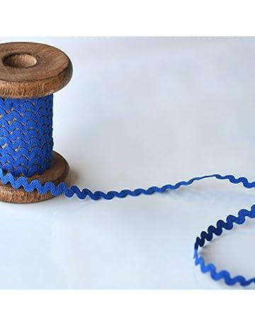 Cintas en zigzag de adorno de costura   Amazon.es