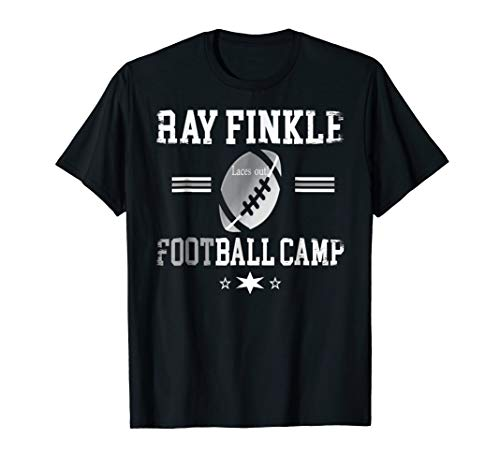 Ray Finkle Football Camp t- Shirt Funny Laces Out Tee -
