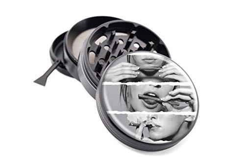 custom 4 piece herb grinder - 3