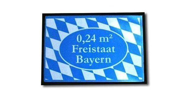 Los bávaros felpudo 0,24 m² Freistaat Bayern