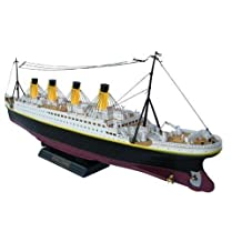 NQD 1/325 32in Huge Boat Radio Control TITANIC Speed Boat Triple-Motors by NQD