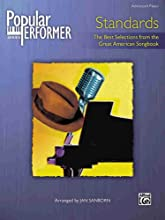 Popular Performer Standards (The Best Selections From The Great American Songbook) (Paperback)