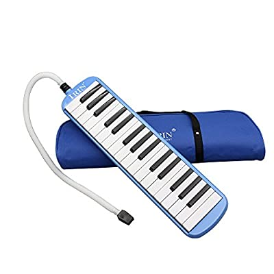 Andoer 32 Piano Keys Melodica Musical Instrument for Music Lovers Beginners Gift with Carrying Bag from Andoer