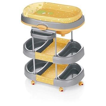 Brevi Table à Langer Acqua Avec Baignoire Orange Amazonfr