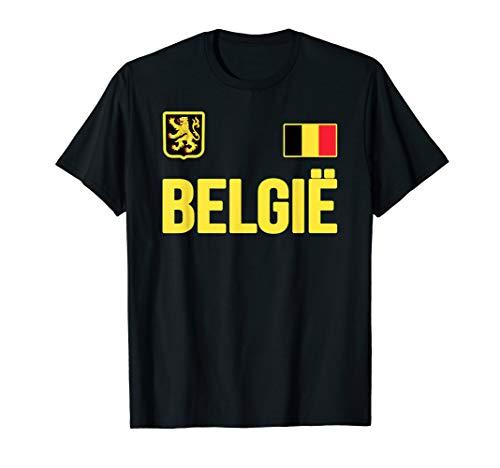 Belgium T-shirt Belgian Flag Belgie Souvenir Love Gift