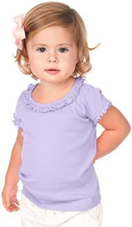 Kavio! Infants Sunflower Short Sleeve Top