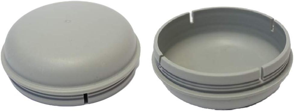Tap/ón de cojinete de Polvo para remolques Ifor Williams Troon/&Co 2 x 76 mm