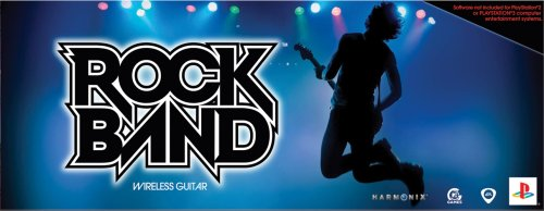 PlayStation 3 Rock Band Wireless Guitar