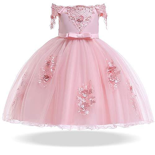 (2019 Spring Girls Dress Infant Party Wedding Dress for Girls Kids Costumes Tutu Princess Dresses Children Clothing 2 10 12)