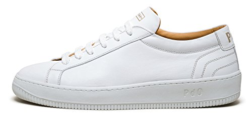 Suprema D'oro Pantofola Bianco Vitello Sp29pd Classic Sneaker SP678q