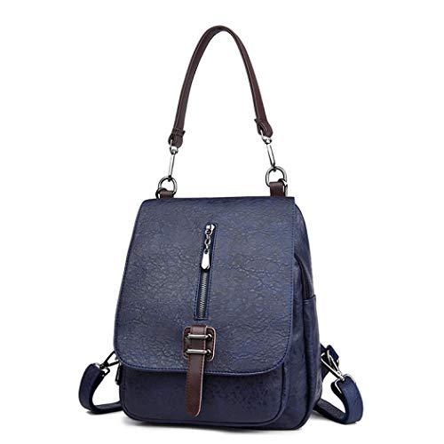 única talla Oscuro para mujer hombro al gris MANYYSI Azul Bolso wqY0ZqF