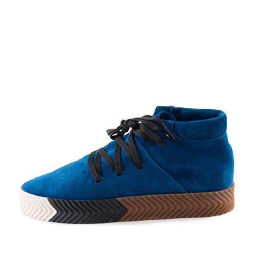 Adidas Homme Alexander Wang Aw Skate Mi Bluebird / Daim Noir