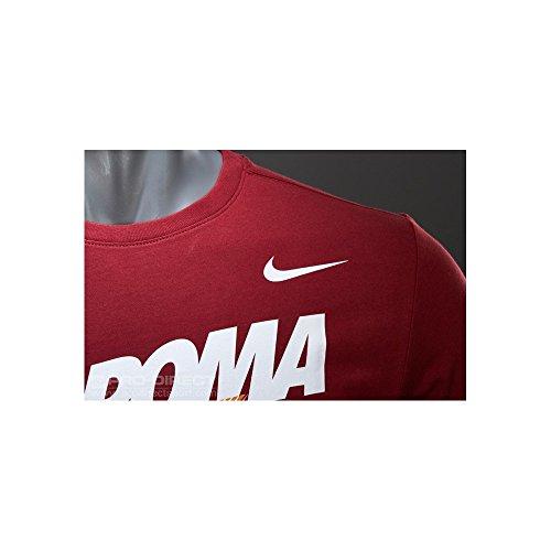2014-2015 AS Roma Nike 1927 Tee (Maroon) Maroon