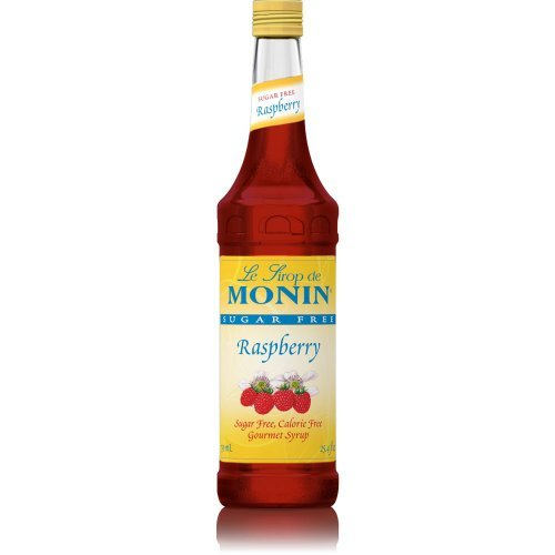 Monin Sugar Free Raspberry Syrup, 750 - Raspberry Monin Tea