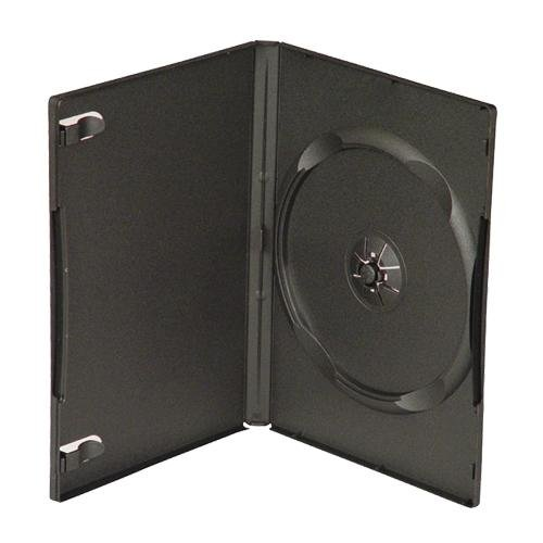 Linkyo 200 STANDARD Black Single DVD Cases 14MM