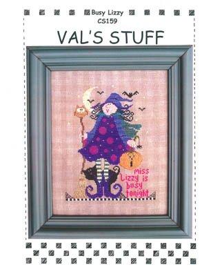 Vals Stitch - Busy Lizzy Cross Stitch Chart