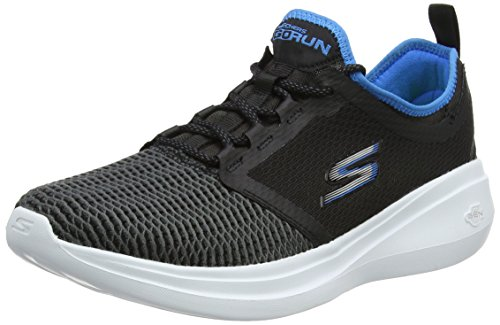 Skechers Mens Gorun Chaussures De Course Rapide Noir / Bleu