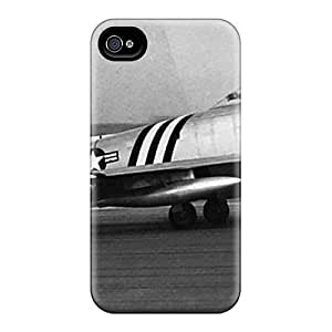 Premium Tpu F 86 Sabre Cover Skin For Iphone 4/4s by runtopwell