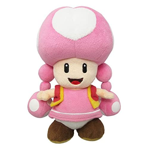 "Sanei Super Mario All Star Collection AC33 Toadette 7.5"" Plush"