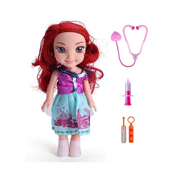 Amitasha Realistic Baby Doll for Girls with Long Hairs