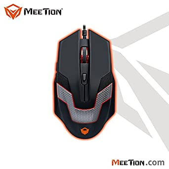 Raton Gaming Mouse Ratón con Sensor Optico para Juegos 2400 DPI Cableado 1,50m.