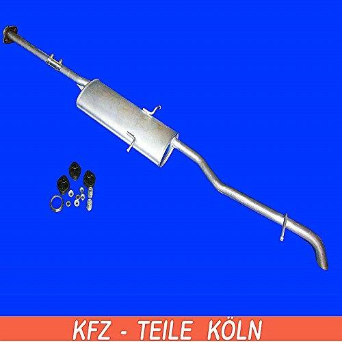 Endschalldä mpfer Endtopf (KSPDTTFII) Auspuffanlagen Köln