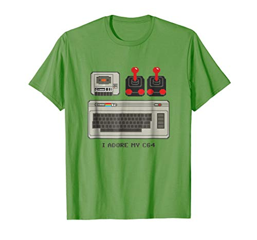 Male or Female I Adore My C64 T-shirt - choice of colours