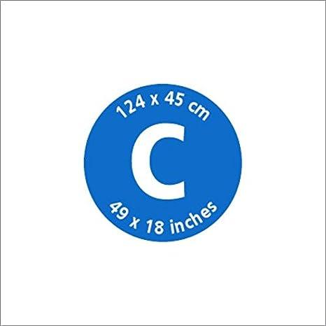 Brabantia 317309 Housse de Repassage Coton M/étallis/é Mousse 2 mm Gris